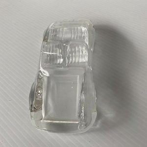 Collectable Molded Glass Car Ornament Paperweight